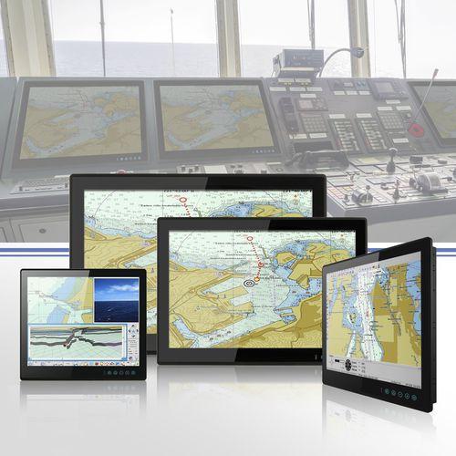 pantalla marina / multifunción / sistema de navegación / de control