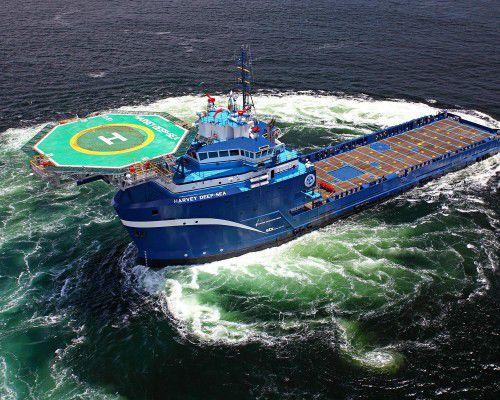 buque multiusos para la construcción