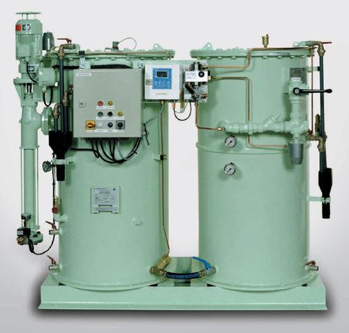 separador para buque / agua/aceite / vertical / de agua de sentinas