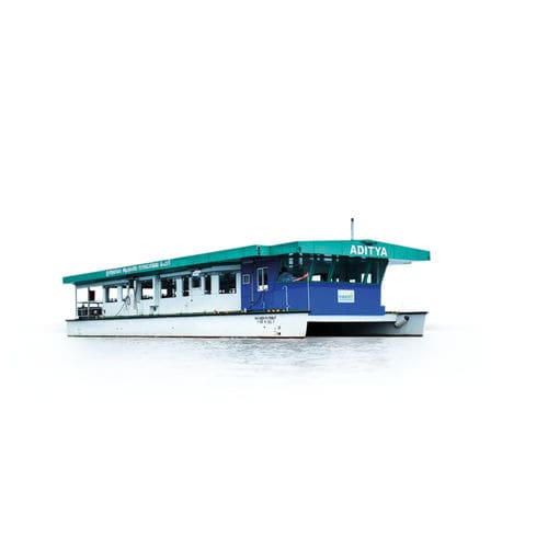 sistema de propulsión para buque / con motor eléctrico