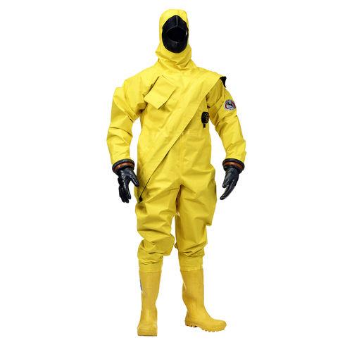 traje de supervivencia / de uso profesional / traje impermeable / con capucha