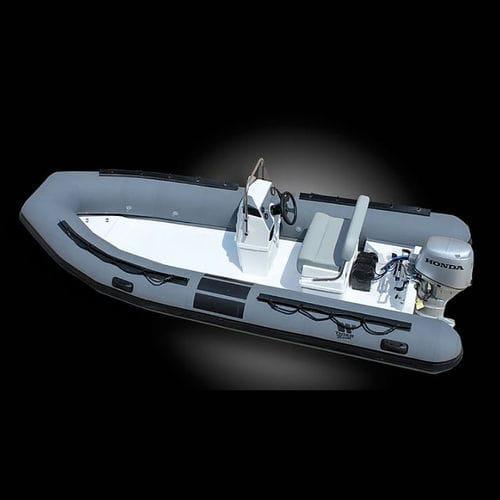 barco profesional embarcación de apoyo al buceo / fueraborda / embarcación neumática semirrígida