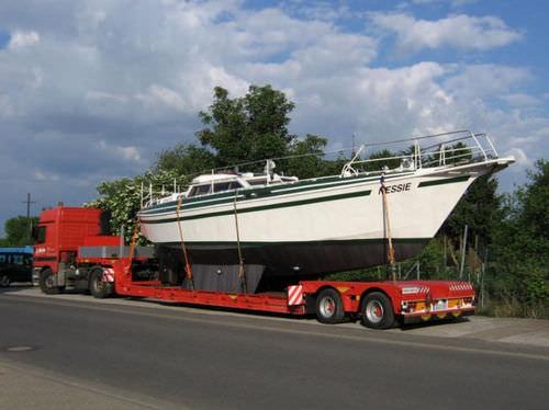 remolque de transporte pesado / para barco / rebajado