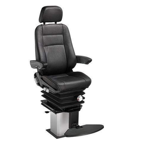 asiento piloto / para buque / con reposabrazos / ajustable