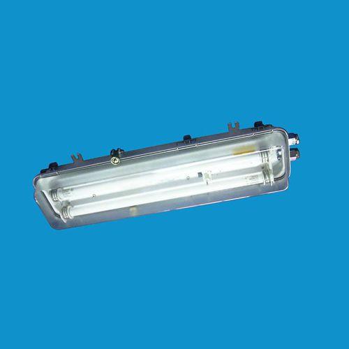 plafón de exterior / de interior / para buque / fluorescente