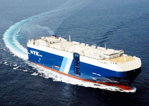 buque de carga Ro-Ro / para transporte de vehículos