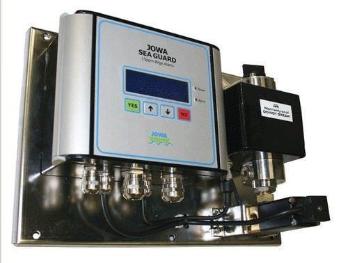 detector de presencia de aceite en el agua