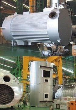 caldera para buque de vapor / con tubos de agua