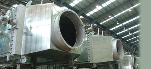 caldera para buque con recuperación de gases de escape