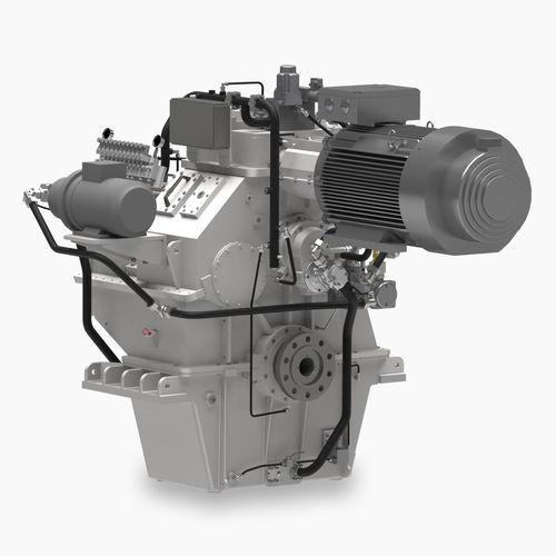 sistema de propulsión para buque / híbrido diésel-eléctrico / con motor eléctrico