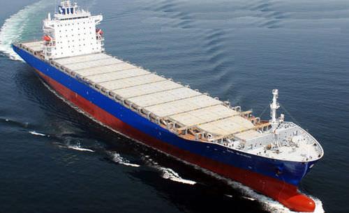 buque de carga portacontenedores
