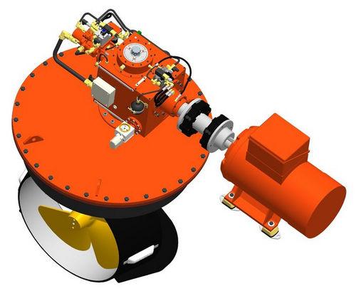 propulsor acimutal / para buque / eléctrico / L-drive