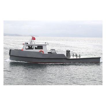 barco profesional lancha amarradora