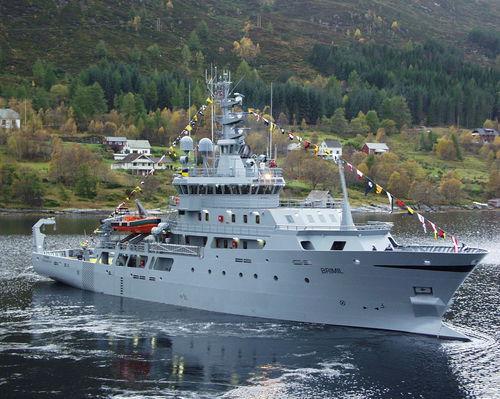 buque especial de vigilancia / costero