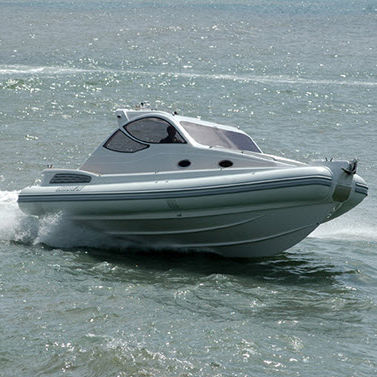 embarcación neumática intraborda / bimotor / semirrígida / con cockpit cerrado