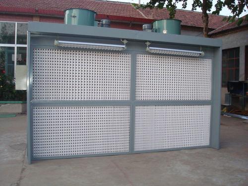 sistema de tratamiento de aire / para astillero naval / con filtro de carbón activado