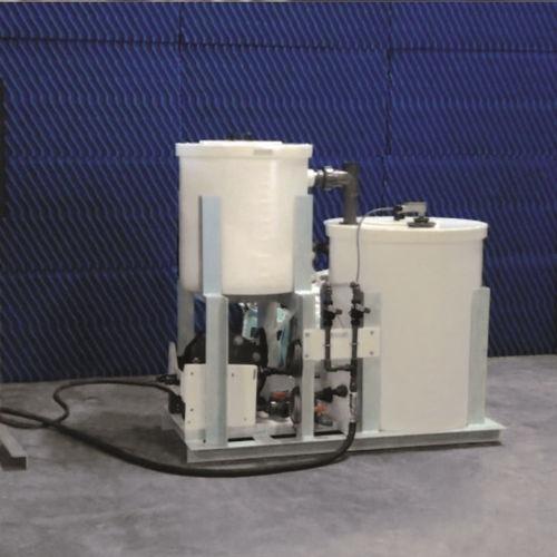 sistema de tratamiento aguas residuales / para buque / químico