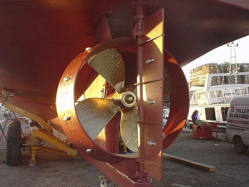 timón para barco de motor