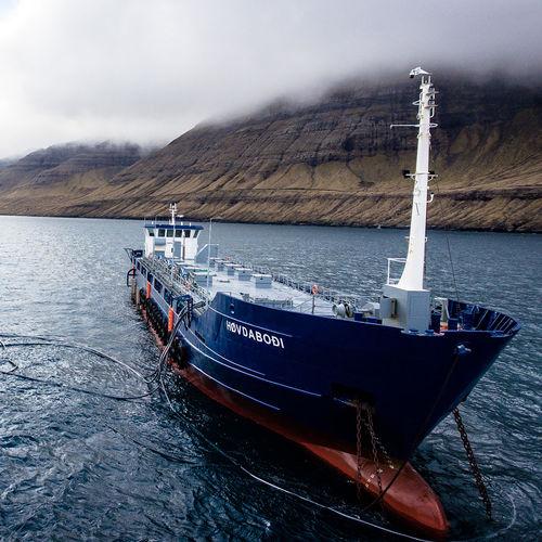 buque especial gabarra / buque feeder
