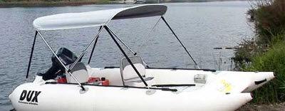 bote catamarán / fueraborda / 6 personas máx.
