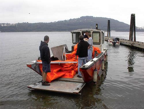 barco de desembarco / fueraborda / de aluminio