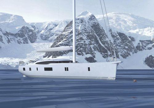 yate de vela de crucero / de expedición / con deck saloon / con center cockpit