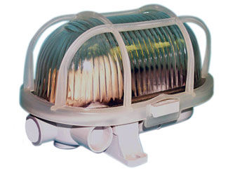 lámpara para sala de máquinas / de interior / para buque / para yate