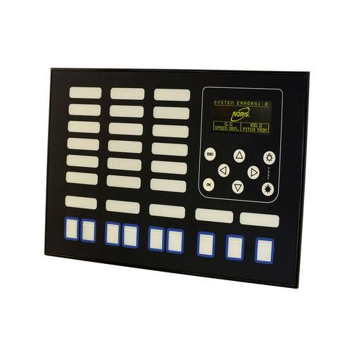 panel de mando y control para barco / para yate / para buque / para sistema de alarma
