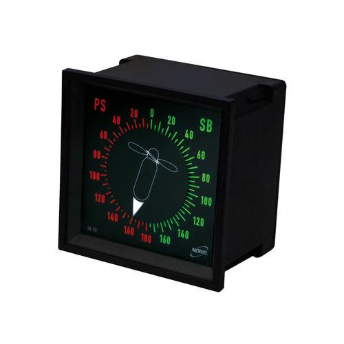 indicador analógico / para barco / para buque / de rumbo