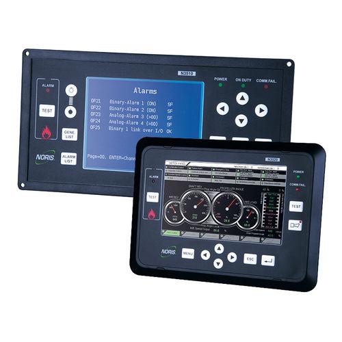 sistema de control y mando para buque / para yate / para sala de máquinas / para grupo electrógeno