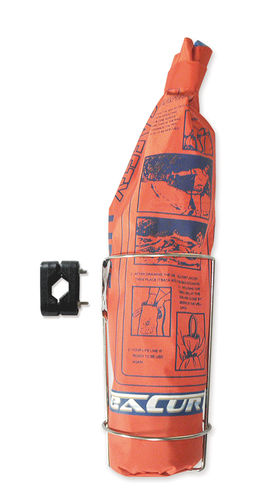 línea de rescate de hombre al agua / flotante / trenza plana / para barco