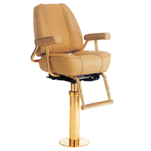 asiento piloto / para barco / con reposabrazos / ajustable