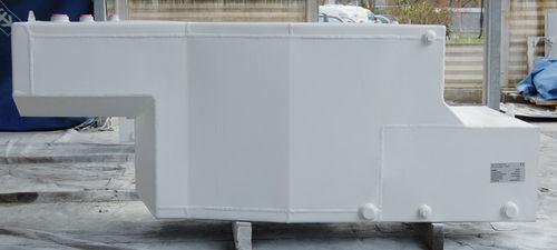 depósito de combustible / de agua / para barco / de aluminio