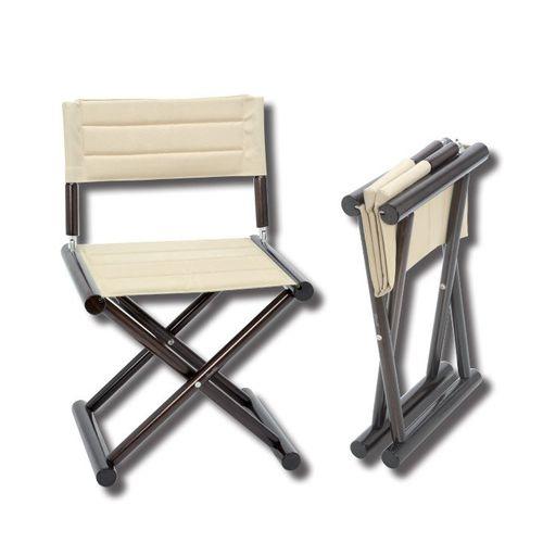 silla tipo director de cine para barco / plegable / de madera