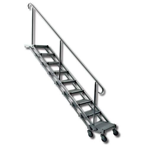 escalera para barco / lateral / de baño / a medida