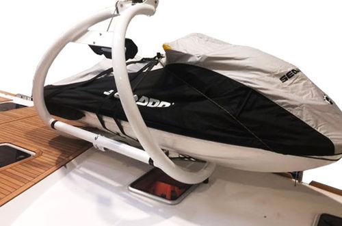 plataforma para barco / para yate / para moto de agua / elevadora