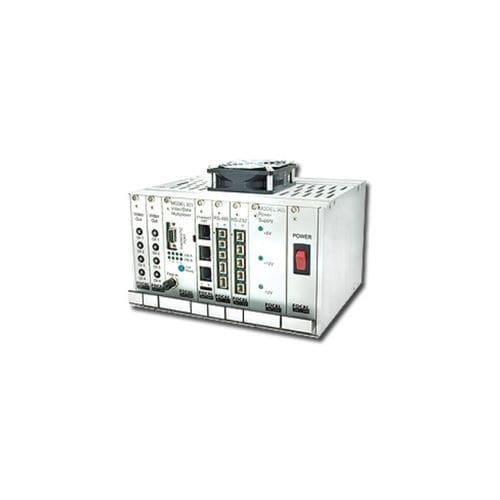 multiplexor de vídeo / datos / de fibras ópticas / para trabajos submarinos