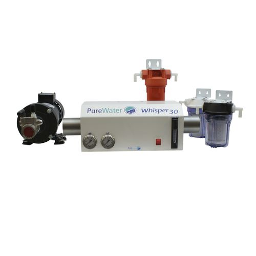 desalinizador para barco / para yate / por ósmosis inversa / de recuperación de energía