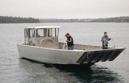 barco profesional barco de desembarco / fueraborda / de aluminio