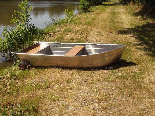 bote fueraborda / de pesca / de aluminio