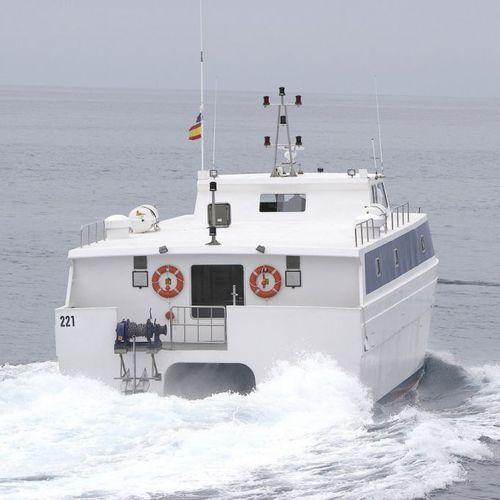 barco profesional barco de pesca profesional / catamarán / intraborda