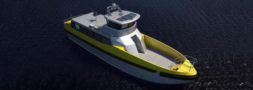 barco profesional barco de transporte de tripulación / hidrojet intraborda