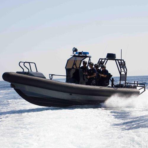 barco profesional barco de transporte de tripulación / fueraborda / embarcación neumática semirrígida