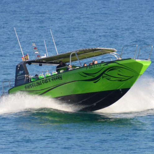 barco profesional barco turístico