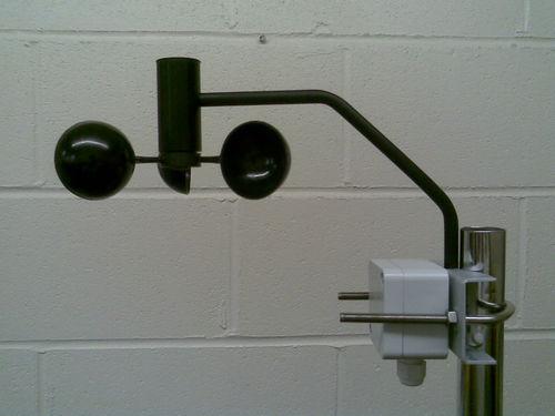 sensor anemómetro / veletas de fibra / para barco