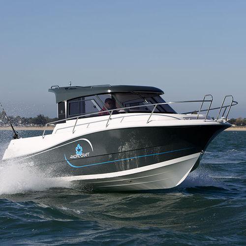 cabin-cruiser fueraborda / con caseta de timón / de pesca / 8 personas máx.