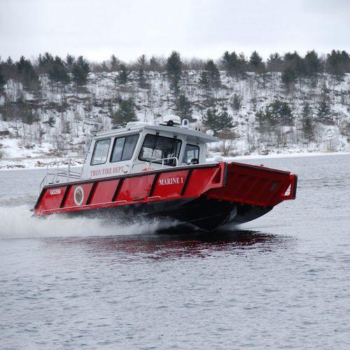 barco profesional barco de bomberos / fueraborda