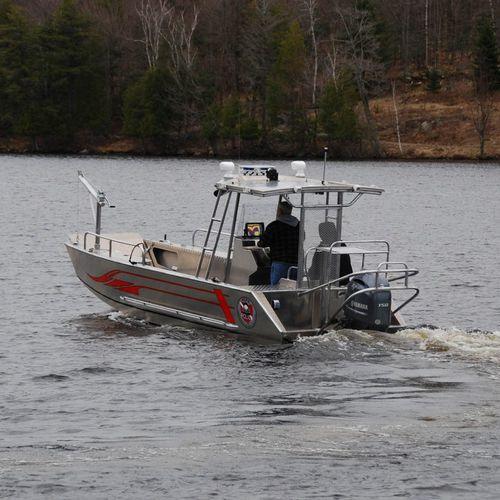 barco profesional barco de salvamento / barco de desembarco / fueraborda