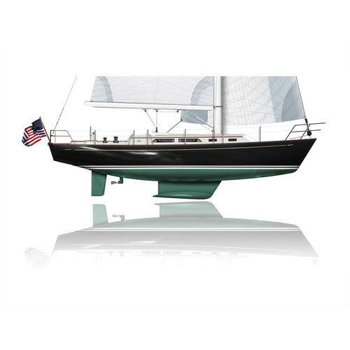 monocasco / de crucero / clásico / con popa abierta