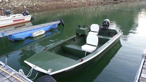 jon boat fueraborda / de pesca deportiva / de aluminio